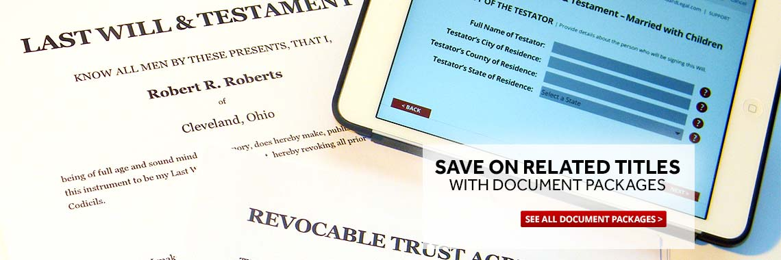 Save money on similar title legal topics with Paralegal Document Packages